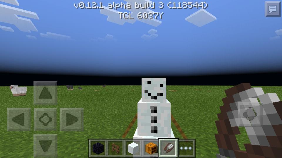 как сделать большого снеговика в майнкрафте 1.12 0. #2