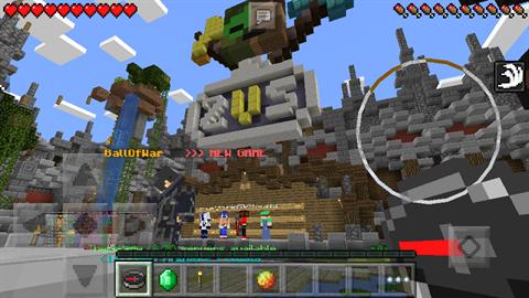 Скачать сервер майнкрафт с мини играми