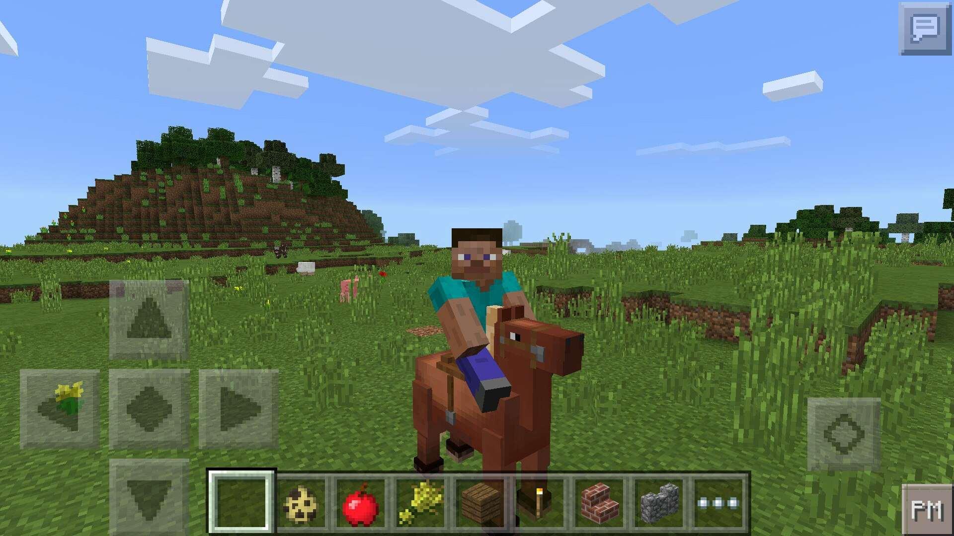 как приручить лошадь в майнкрафте 1.8.9 в творческом режиме