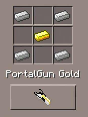PortalGun Gold (id - 3652)
