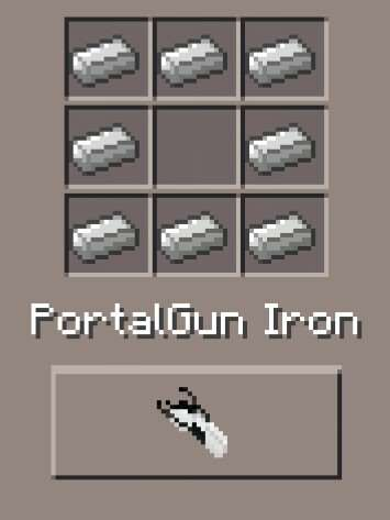 PortalGun Iron (id - 3653)
