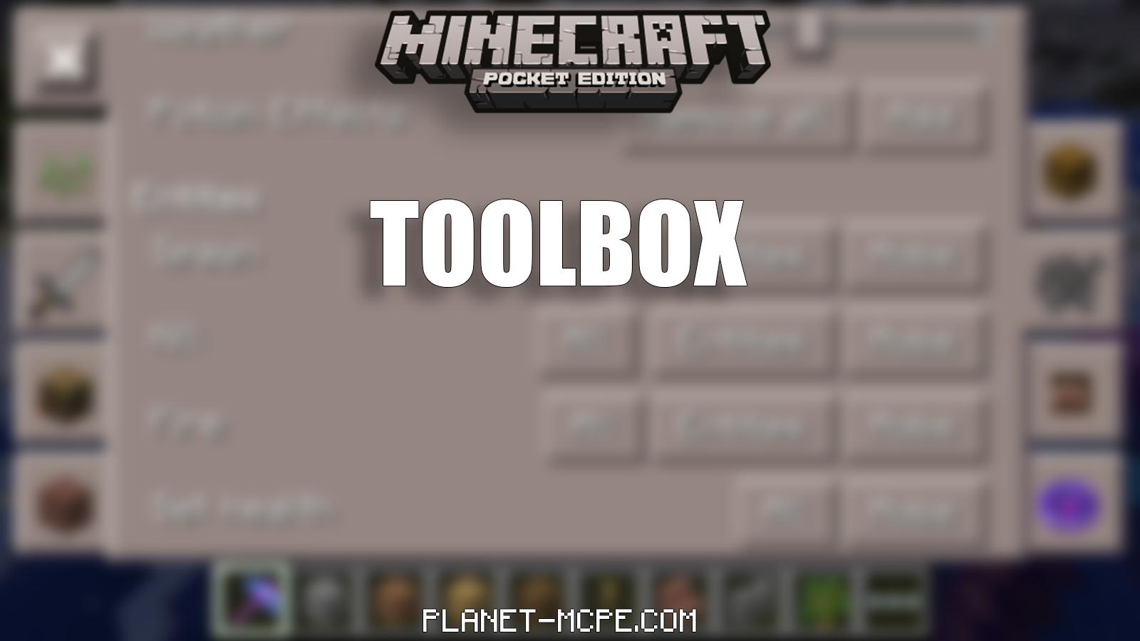 toolbox для майнкрафт 0.14.0 скачать