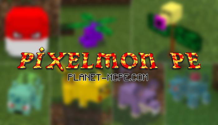 pixelmon-pe-mod-for-mcpe