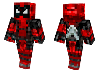 minecraft deadpool skin
