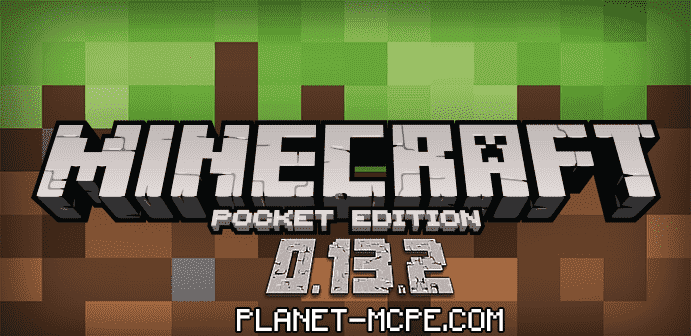 minecraft pocket edition 0.13.2 logo
