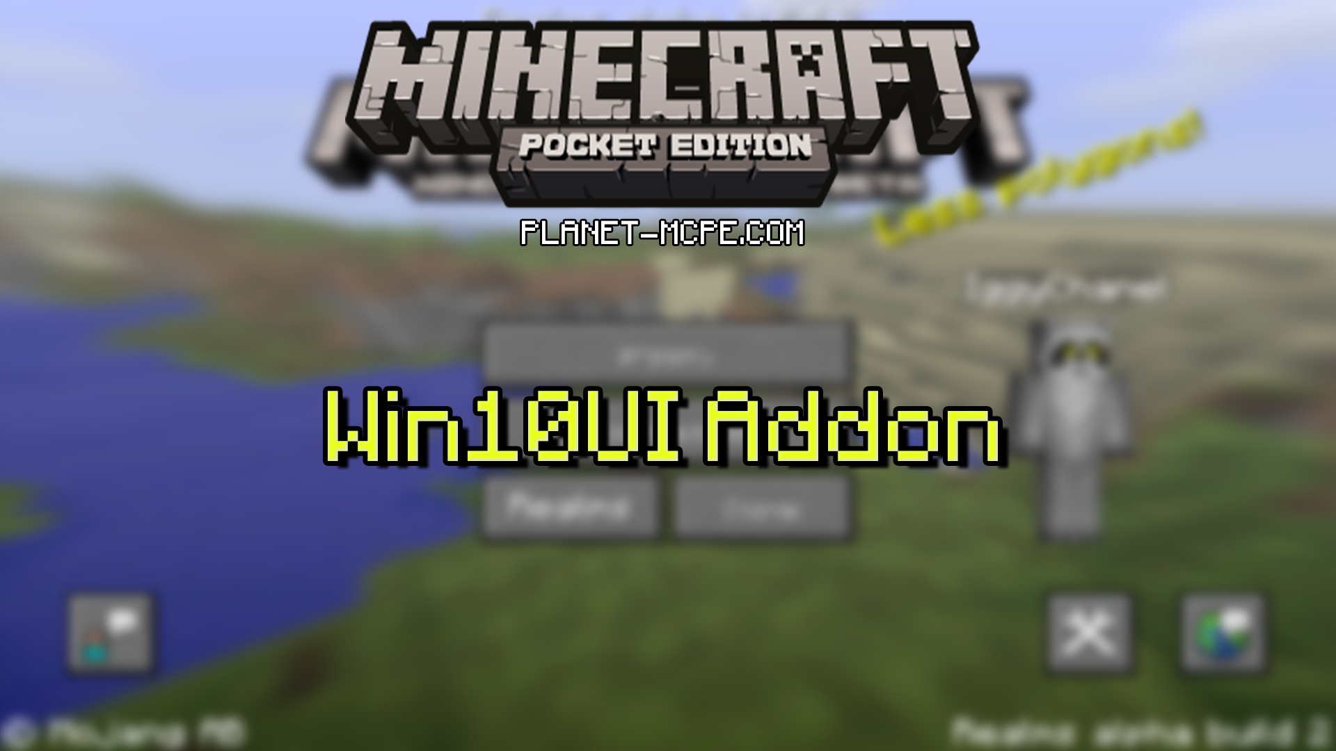 windows 10 edition ui for mcpe