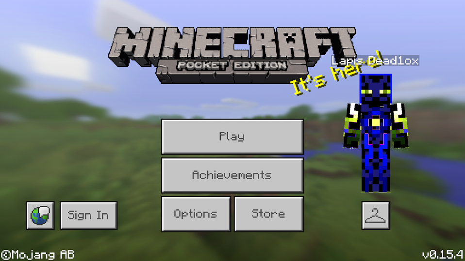 Скачать Minecraft Pocket Edition (PE) 1.0.5 и 0.17.0