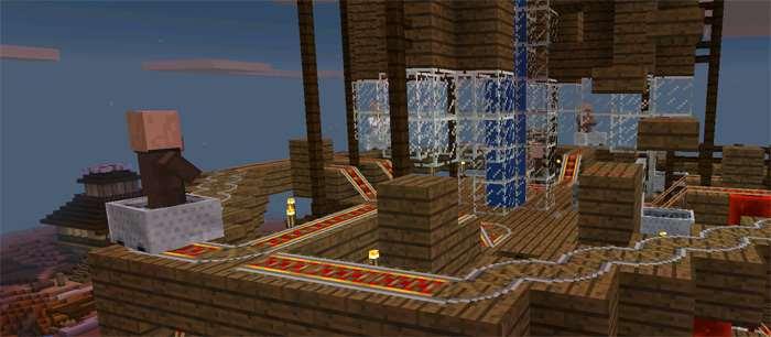 карта головоломка для minecraft pe