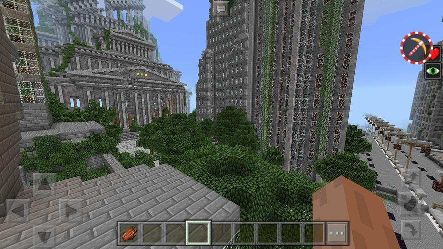 Карта город зомби апокалипсис для майнкрафт 1.7.10