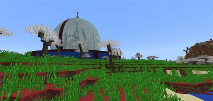 Крутая карта Minecraft PE
