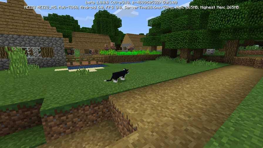 Кошки в Майнкрафт 1.8.1