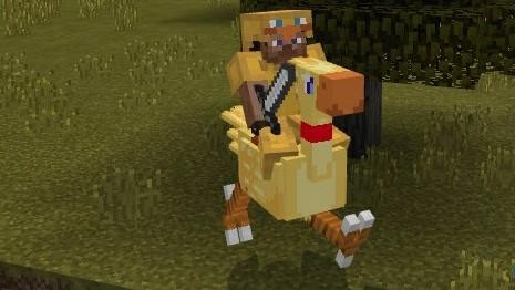 Чокобо для Minecraft Pocket Edition