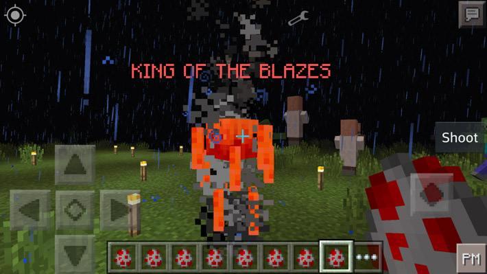 Мод на боссов для Minecraft Pocket Edition