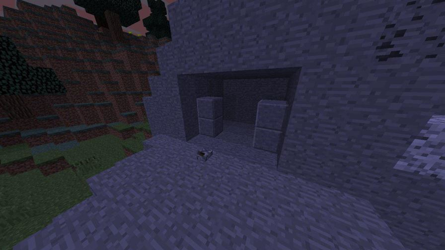 механизм дверей в Бункер для Майнкрафт Покет Эдишн