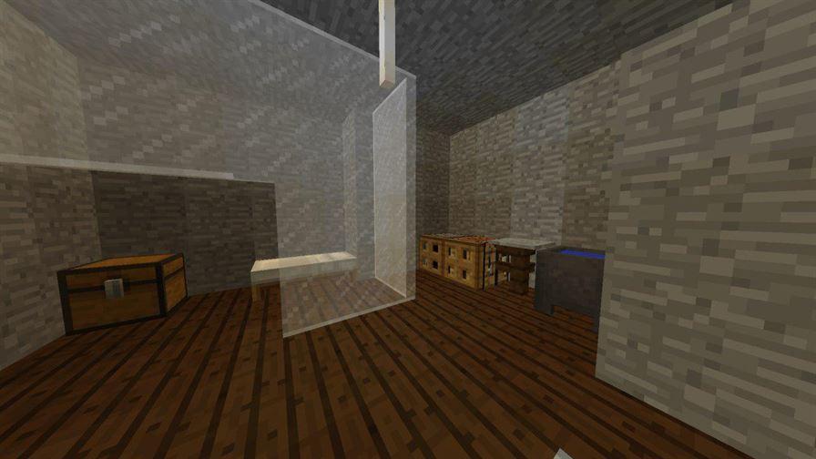Комнаты в Бункере для Майнкрафт Покет Эдишн