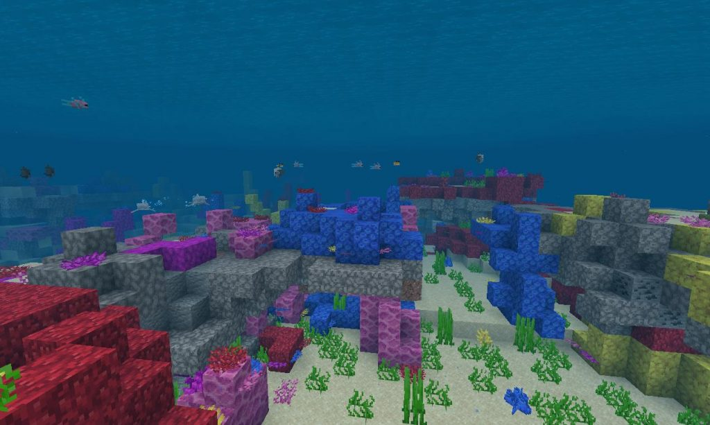 майнкрафт биом океана