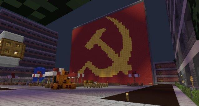 Чернобыль в майнкрафт ПЕ на андроид