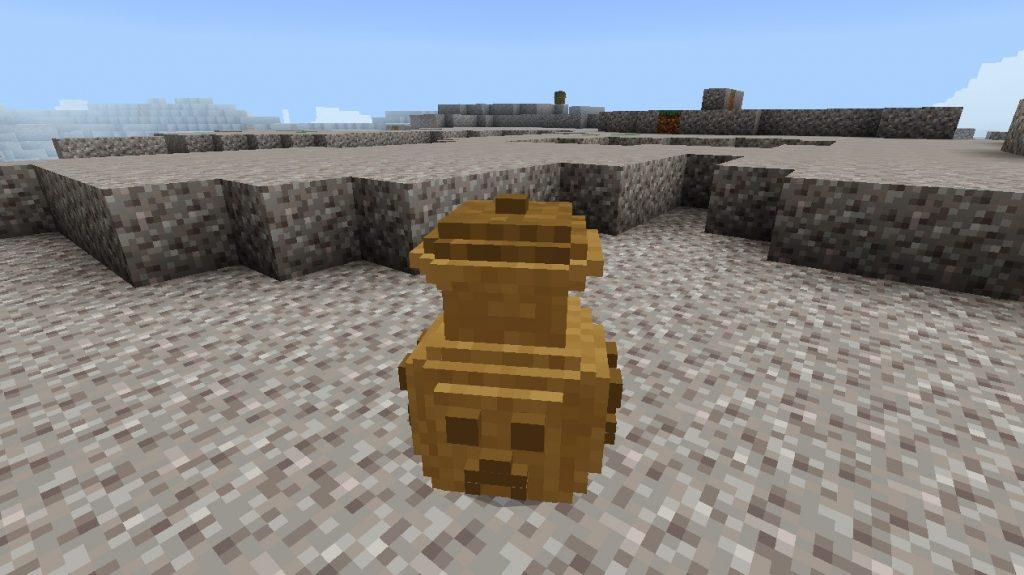 Древний горшок в Майнкрафт ПЕ