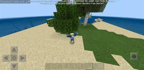 мод на анимации на Minecraft pe 1.13.0