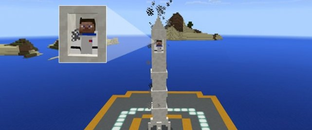 Мод на ракету для Майнкрафт ПЕ