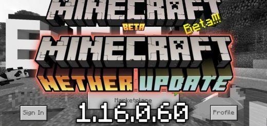 Скачать Майнкрафт 1.16.0.60 - Nether Update