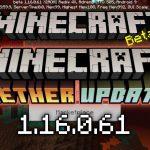 Скачать Майнкрафт 1.16.0.61 - Nether Update