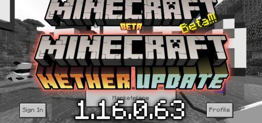 Скачать Майнкрафт 1.16.0.63 - Nether Update