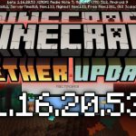Minecraft PE 1.16.20.53