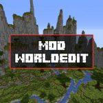 Скачать Мод WorldEdit для Minecraft PE