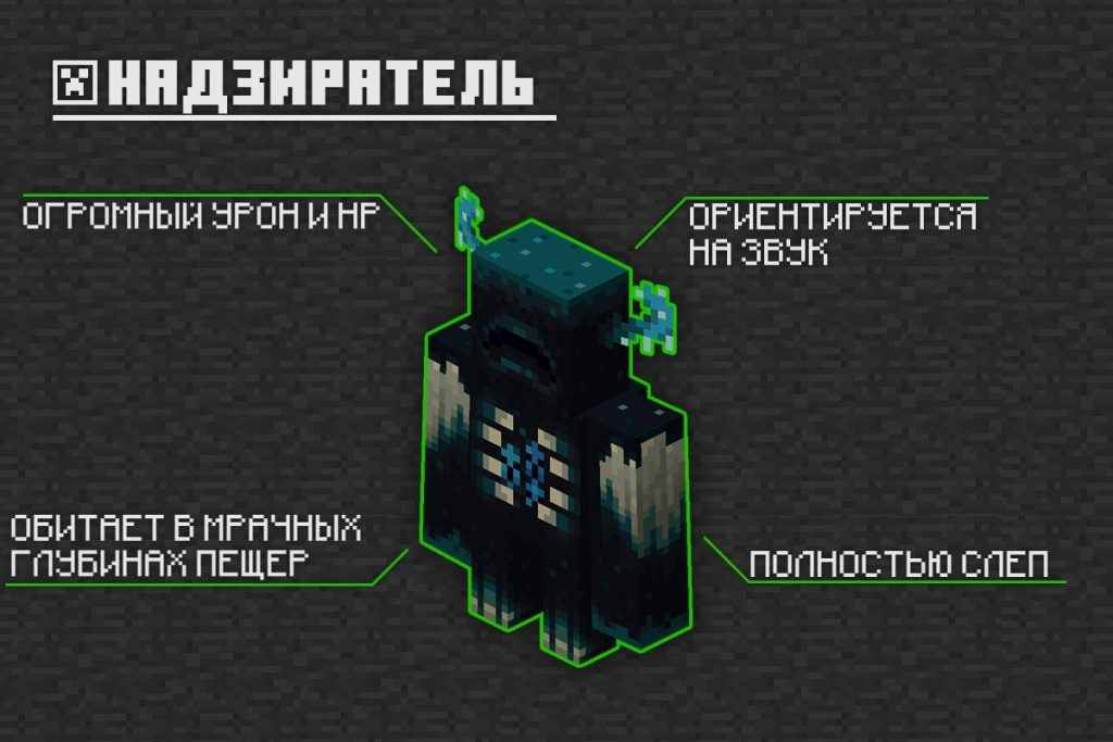 Надзиратель в Майнкрафт 1.16.230.50