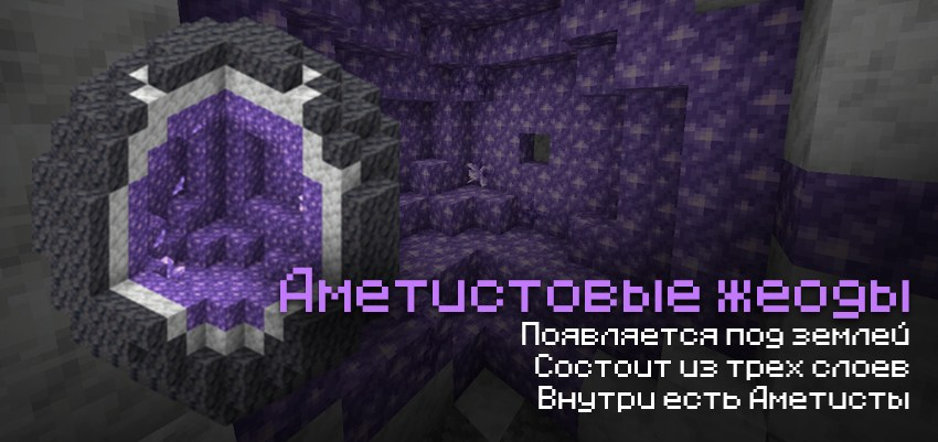 Как выглядят аметистовые жеоды