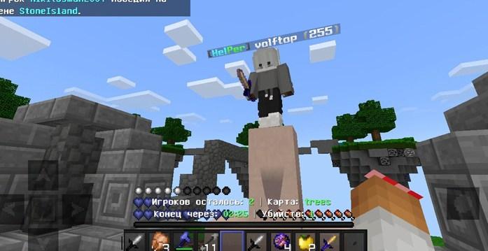 Игроки играют на сервере MineHell