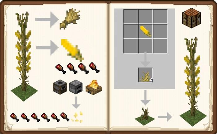 Все особенности кукурузы в Майнкрафт