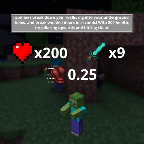 Новые характеристики зомби