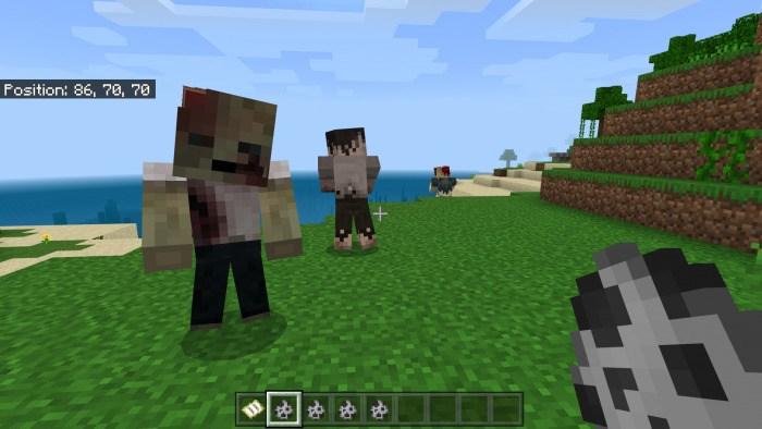 Новые виды зомби в Майнкрафт