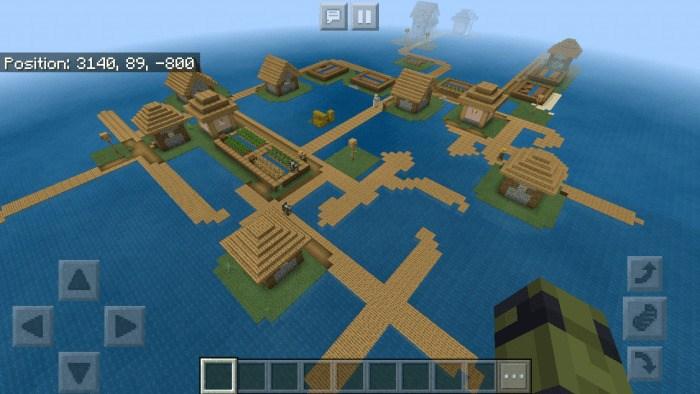 Деревня на границе бесконечного океана