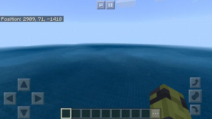 Как выглядит бесконечный океан
