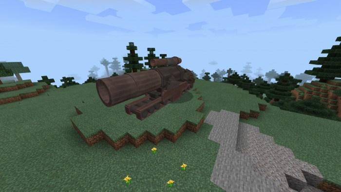 Как создать пушку Тифоня в Майнкрафт