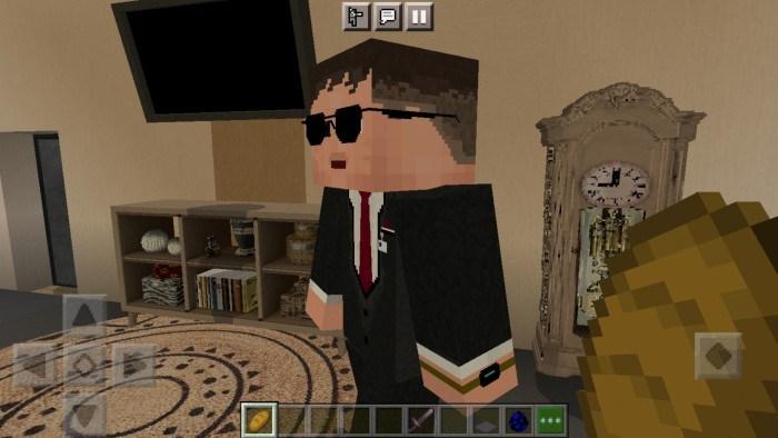 Игрок готовится приручать охранника