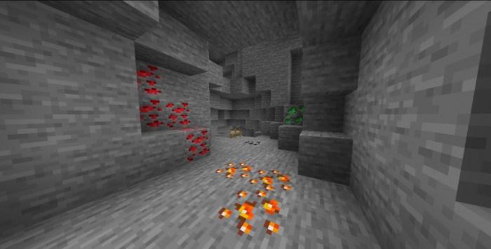 новая руда в пещере