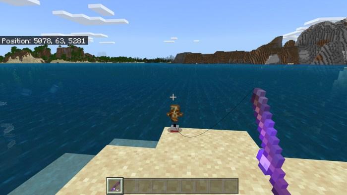 Игрок поймал сломанную реликвию
