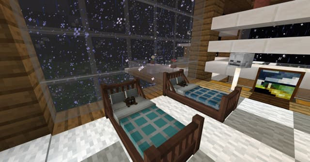 Две новые кровати в комнате