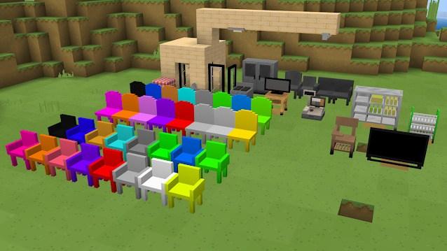 Новая мебель расставлена в игровом мире 2