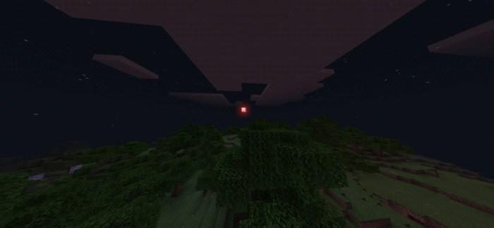 Кровавая луна в Майнкрафт