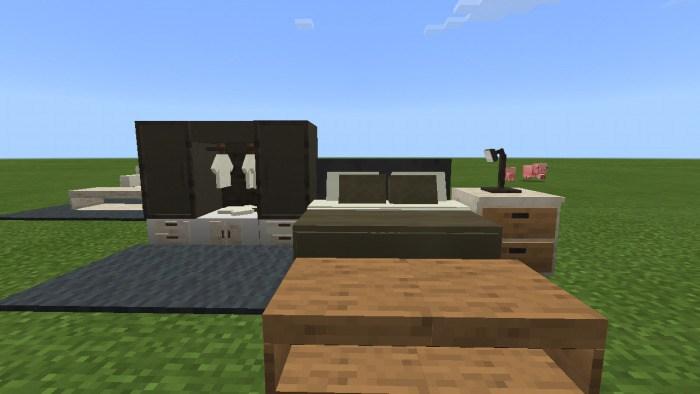 Украшение спальни в Майнкрафт
