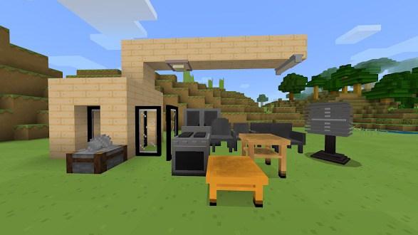 Новая мебель расставлена в игровом мире 6