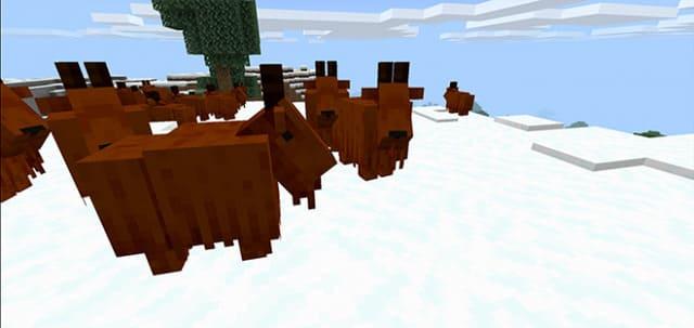 Короткорогий козел в Майнкрафт
