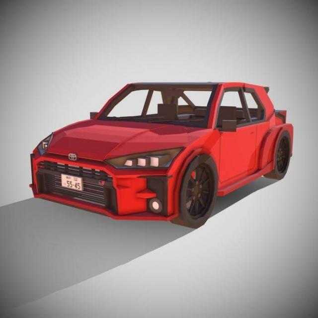 Красная версия машины