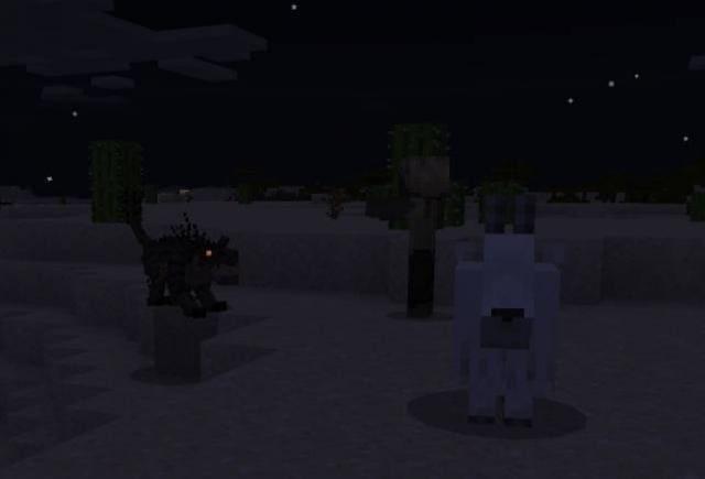 Чупокабра в ночное время