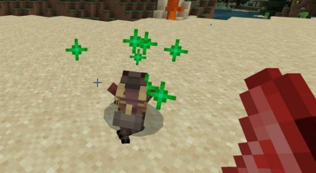 Игрок приручает молодую версию чупокабры